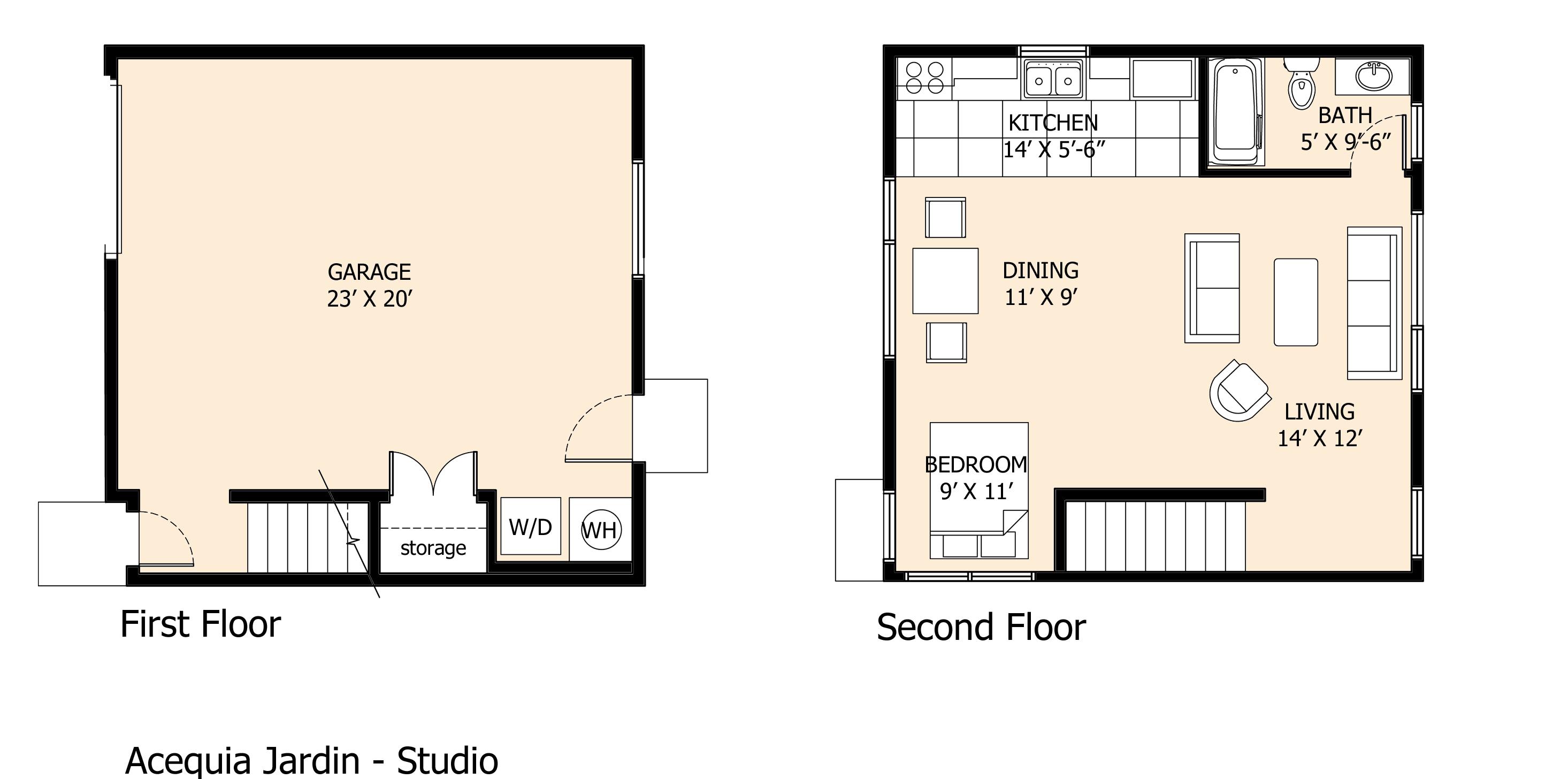 Casita Floor Plans Small Second Sun Co Trend Home Design